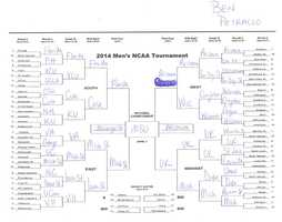 Click here to take a closer look at Ben Petracco's bracket