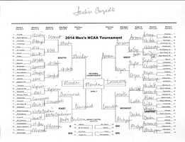 Click here to take a closer look at Jackie Congedo's bracket