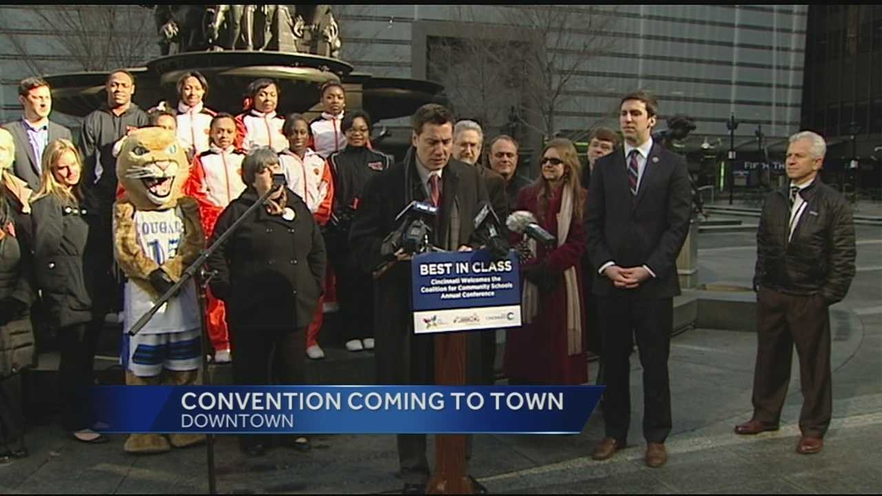 The Coalition for Community Schools Convention is coming to Cincinnati in April. The three-day convention will have a economic impact on the city.