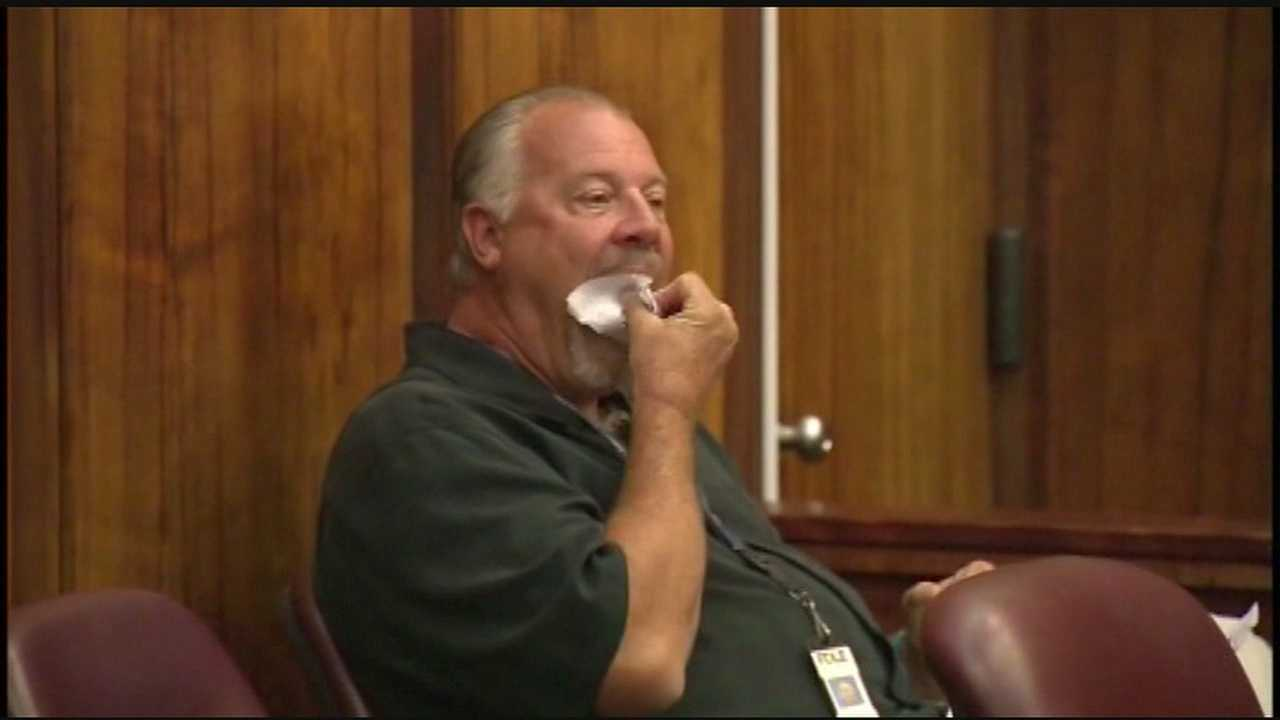 "Officials said he ate a printed ""crime stoppers tip"" rather than turn it over to a judge for examination."