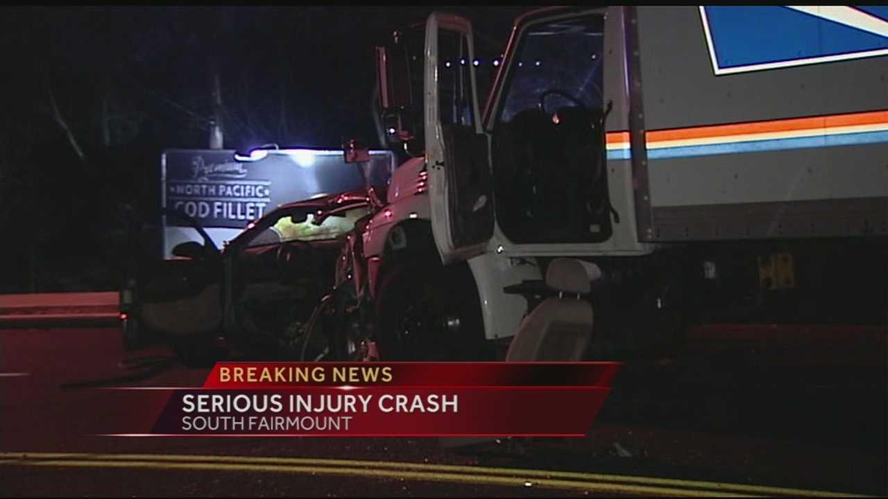 Police investigate crash in S. Fairmount