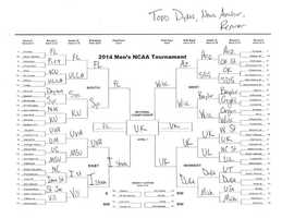 Click here to take a closer look at Todd's bracket