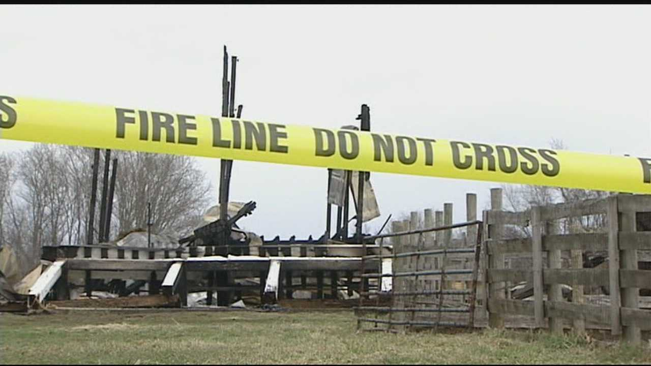 The cause of a barn fire that killed two thoroughbred horses in Hebron remains unknown a day after it was put out. The fire broke out at about 3:30 p.m. Thursday, and it killed two thoroughbreds that were being boarded there.