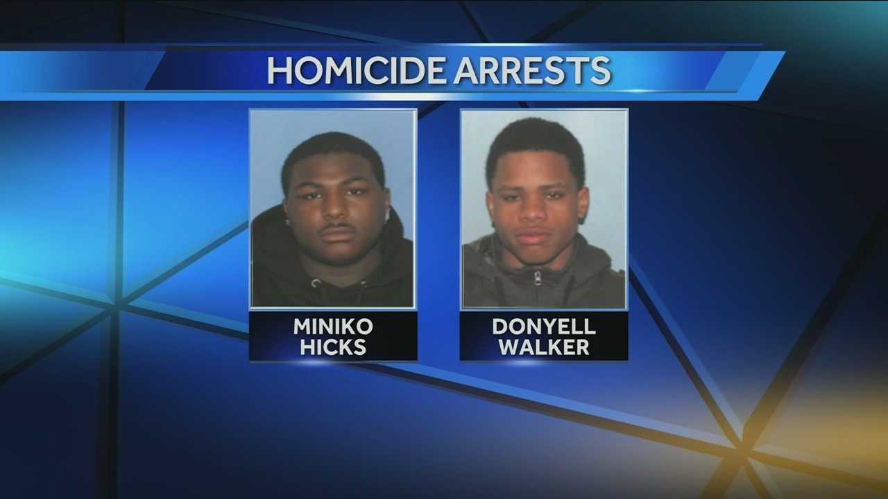 Cincinnati police charged two half-brothers with murder in connection with the shooting death of a teenager in a gang-related shooting in Walnut Hills. Three others were wounded.