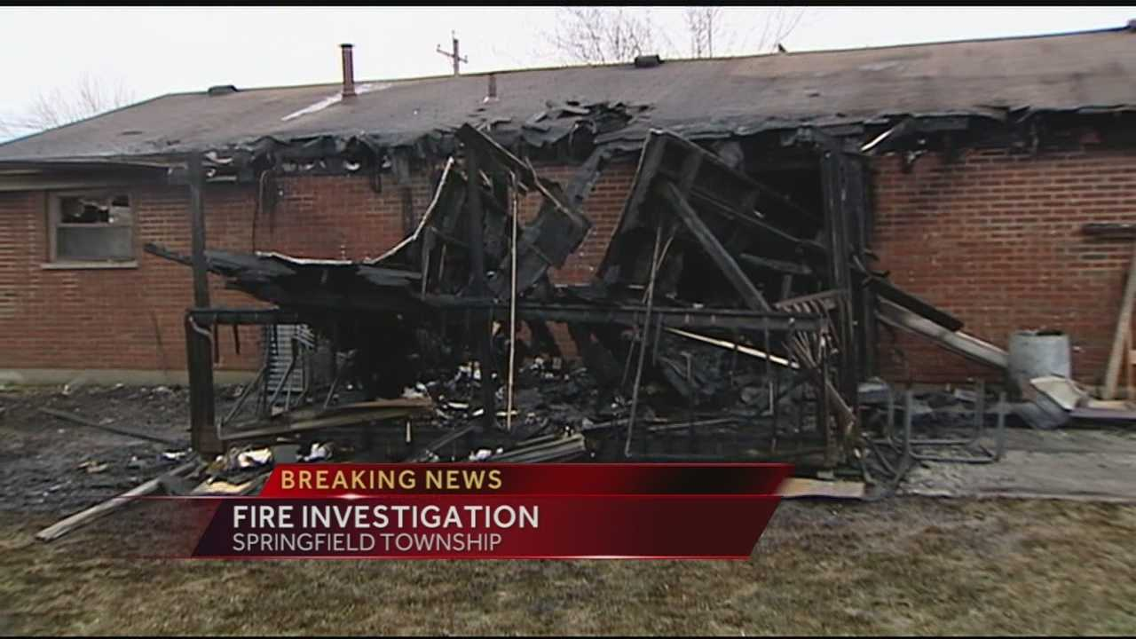 Police investigate fire in Springfield Township