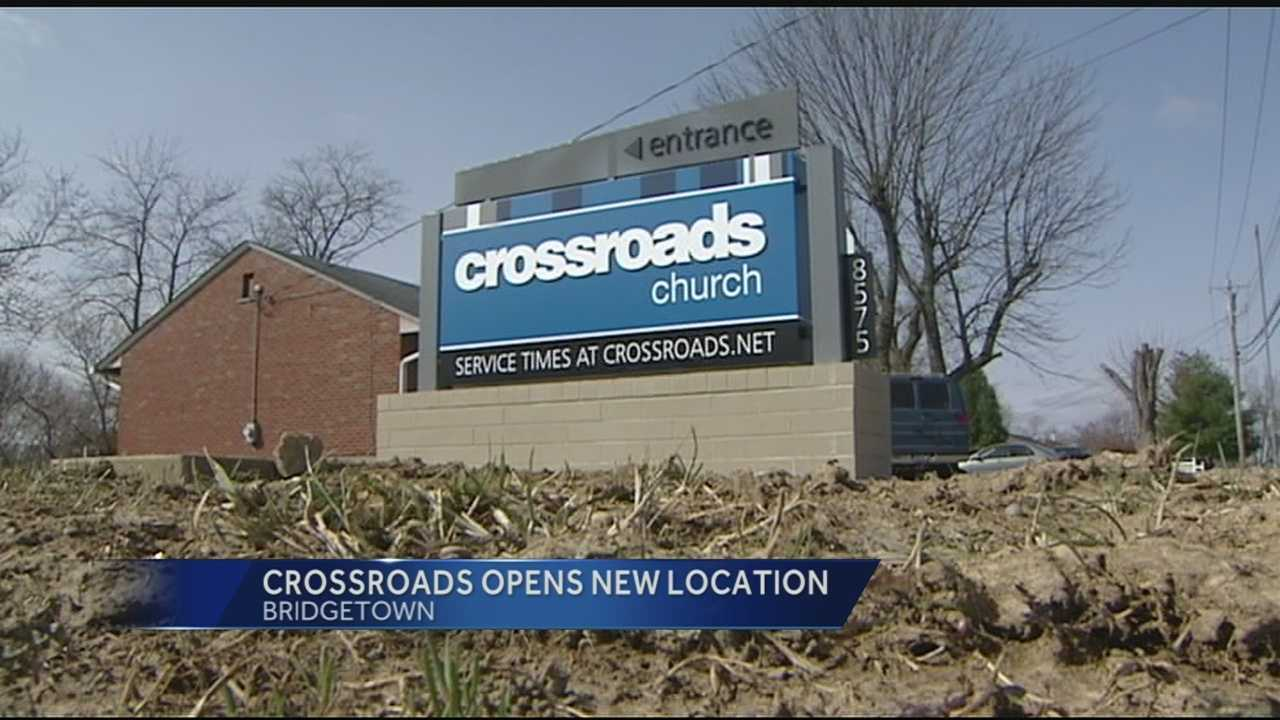 Crossroad Church opened its new West Side location in the former Three Rivers Middle School in Cleves Sunday.