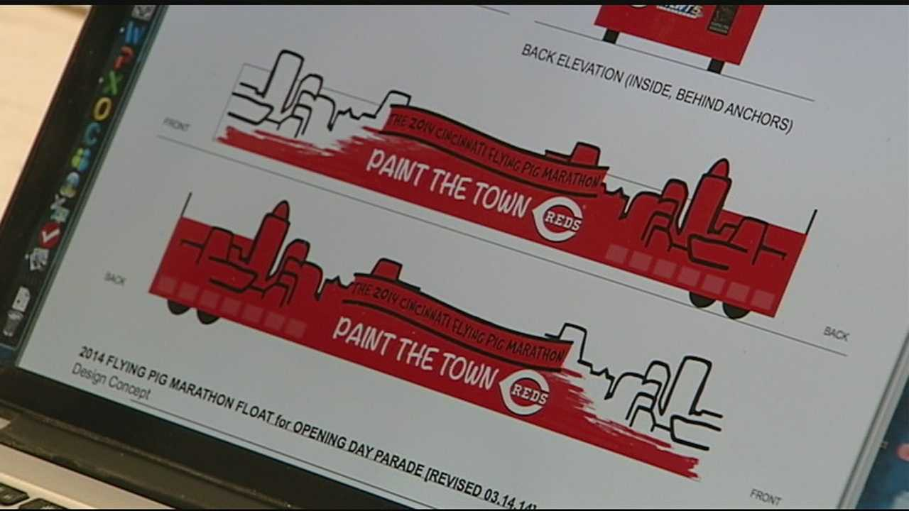 Sneak a peek at WLWT News 5's Opening Day Parade float