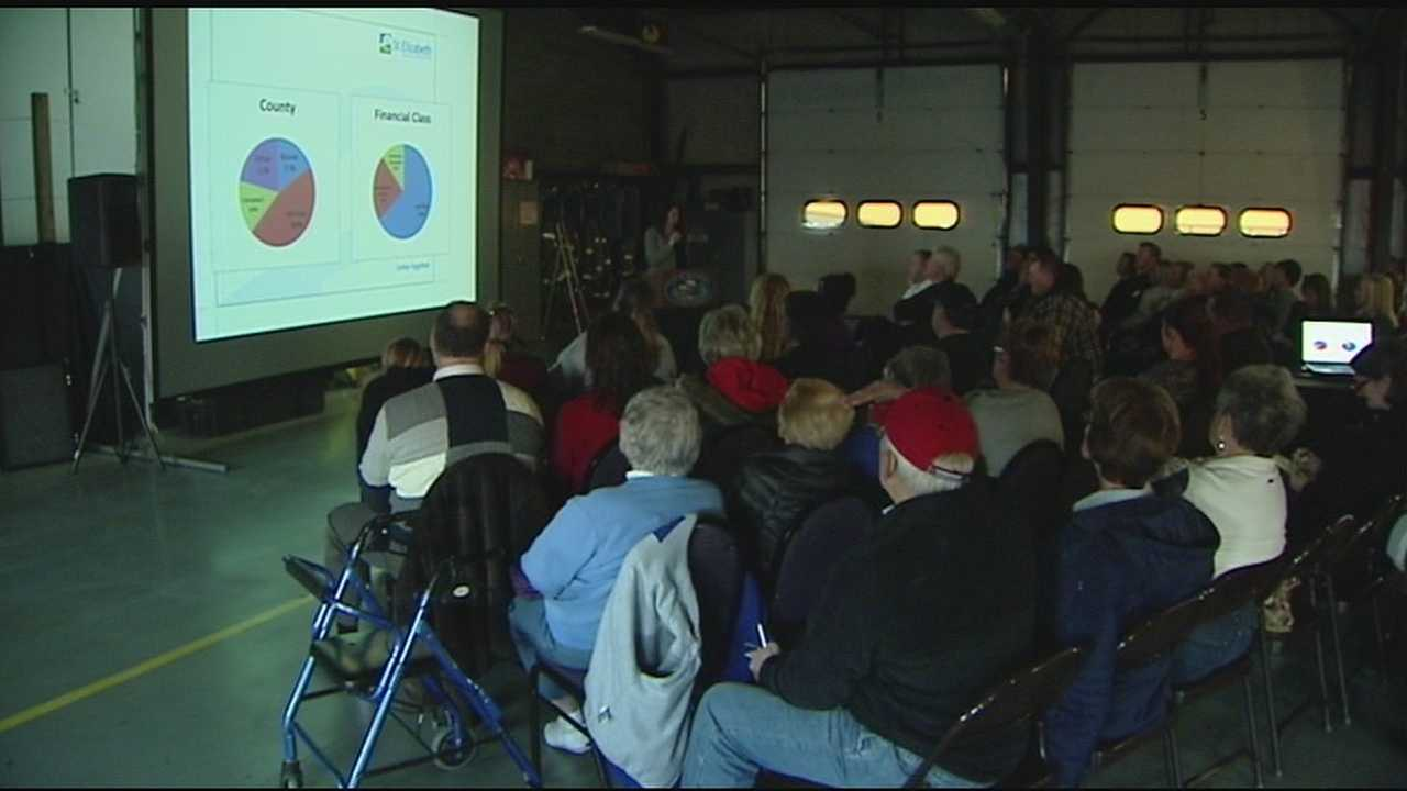 The Taylor Mill Fire Department hosted a seminar to discuss the impact of heroin use on health care in the Tri-State. About 50 community members attended.