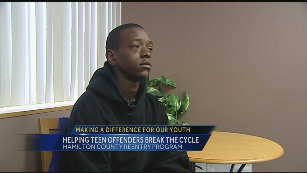 The re-entry program works with the Cincinnati initiative to reduce violence in Cincinnati. The program focuses on adult ex-offenders to break the cycle of violence and give them support in the process.