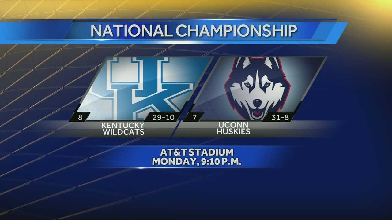 ncaa final game graphic