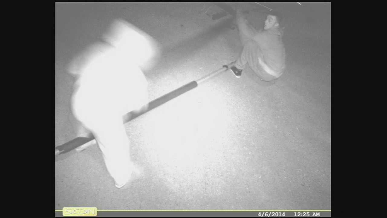 Police in Elmwood Township say thieves broke into Elmwood Elementary school twice in two days to steal copper from the air condition units.