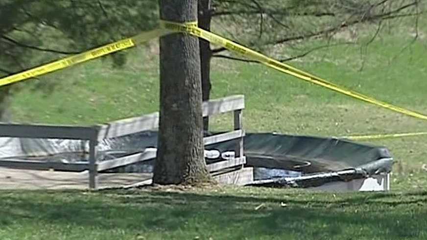 Twin girls die after being found in SE Indiana pool.