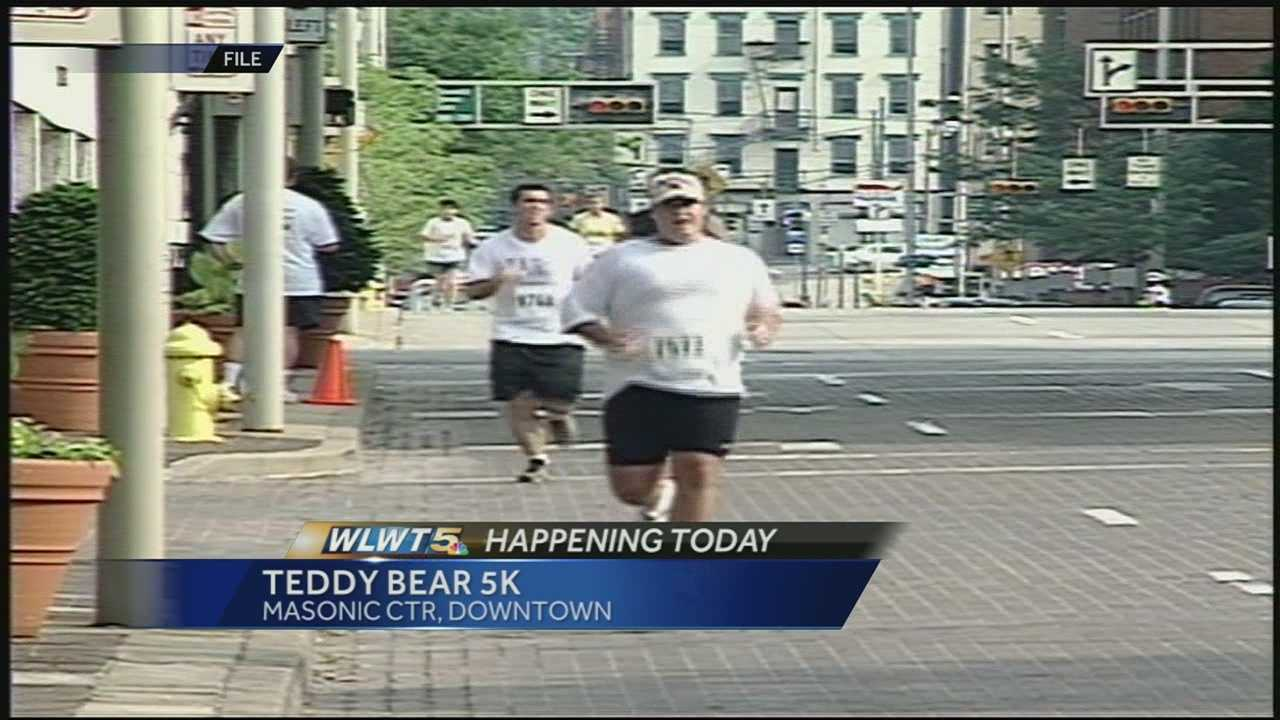 The Cincinnati Dyslexia Centers of Cincinnati hosted their 12th annual Teddy Bear 5k Sunday. The race is the center's largest fund raiser which helps educate and help children affected by dyslexia or learning disabilities.