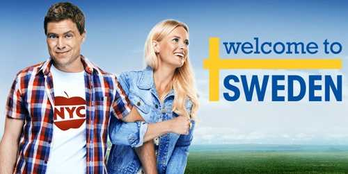Welcome To Sweden: On Sundays at 8:00 pm. Bruce Evans (Greg Poehler) and Emma Wiik seem to be the perfect couple. He is a successful money manager to the stars, living his life in New York with Emma, the sweet woman from Sweden whom he loves and adores. A rare combination of intelligent, funny, kind and beautiful, Emma believes she has finally found her true soul mate. So when she makes the life-changing decision to move back to her native Stockholm to accept a prestigious banking job after being with Bruce for a year, she is surprised and thrilled that he agrees to move with her to begin a new life together.Stars: Greg Poehler, Josephine Bornebusch, Claes Månsson, Christopher Wagelin, Per Svensson, Patrick Duffy, Illeana Douglas, and Lena Olin.