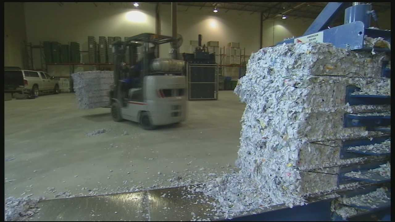 Shred Day is a way to protect your identity, but it is also a way to protect the environment by recycling all of those papers that would otherwise be tossed into the garbage.