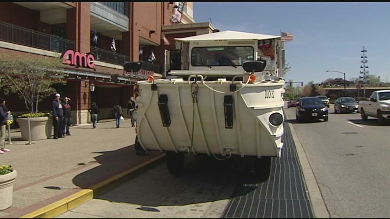 Nation's largest amphibious tour ready to take to the streets