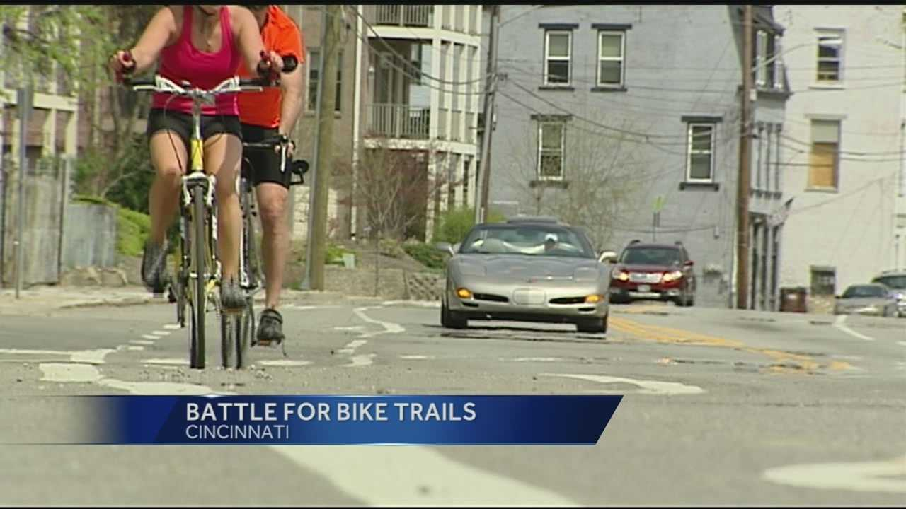When it comes to biking, the trails along the rivers and hills may come to mind, but more bike lanes are popping up on Tri-State streets.