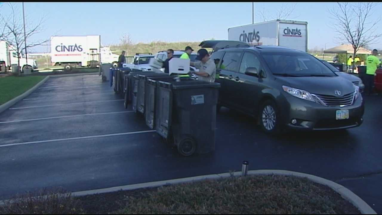 Shred Day was a free offering to the public to safely discard personal information that is no longer needed.