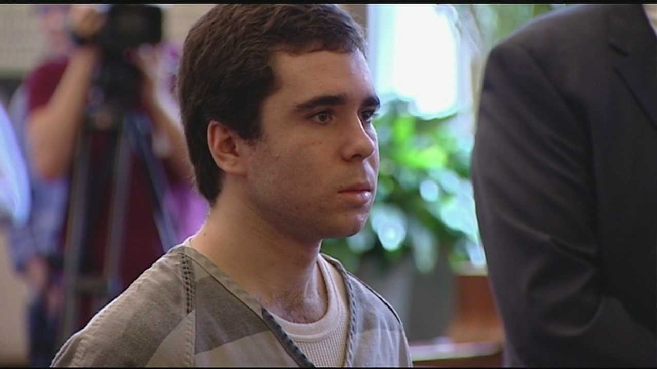 Kyle Stein, 19, pleaded guilty to to two counts of aggravated vehicular homicide in the September 2013 crash that killed passengers Rachel McGrath, 16, and Eric Moormann, 19.