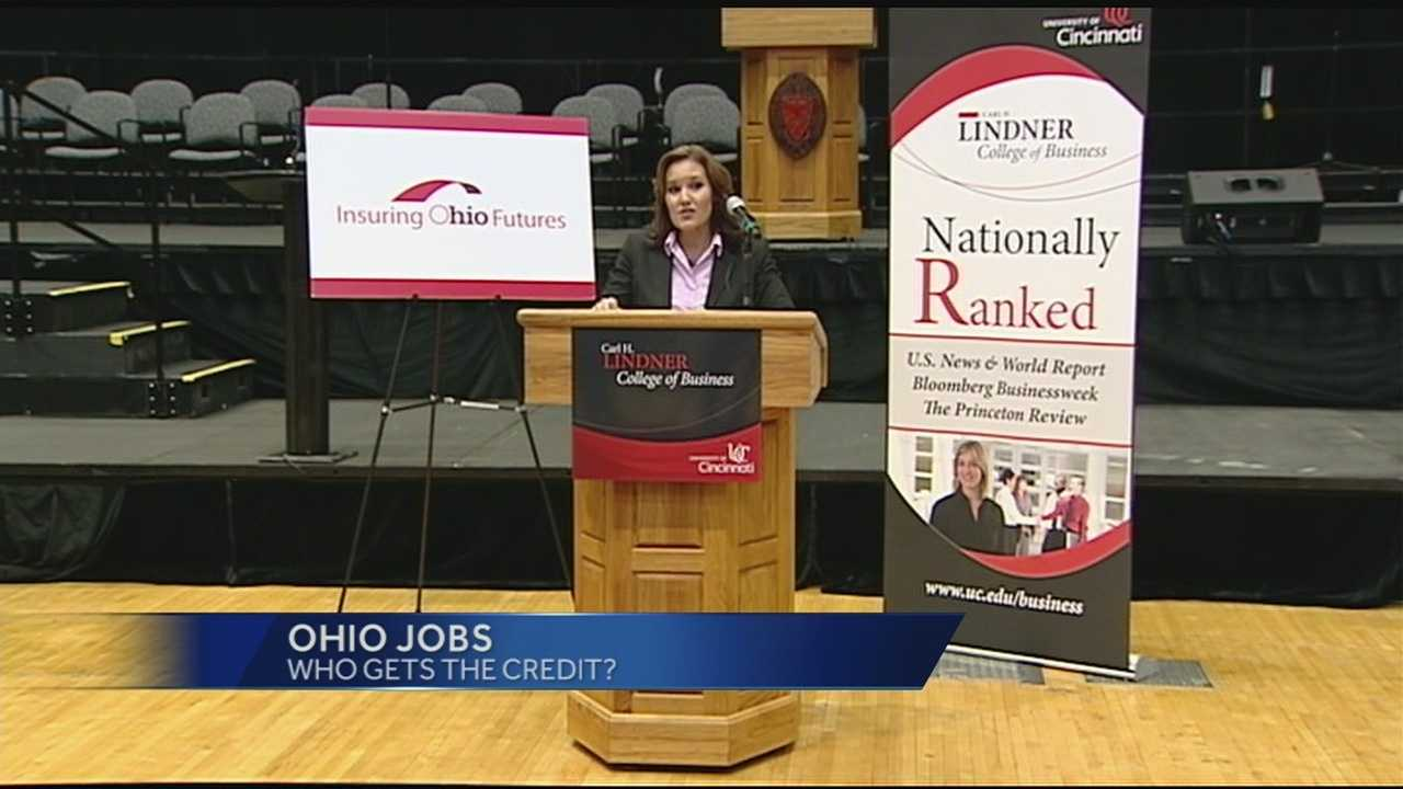The debate has started on what attracted GE to build its U.S. global operations center in southwest Ohio. Lt. Gov. Mary Taylor said that state policies certainly played a part, but that is not how Ohio's democratic Sen. Sherrod Brown sized it up Tuesday. Brown feels it is how the community has treated GE in the past that drew them to the area.