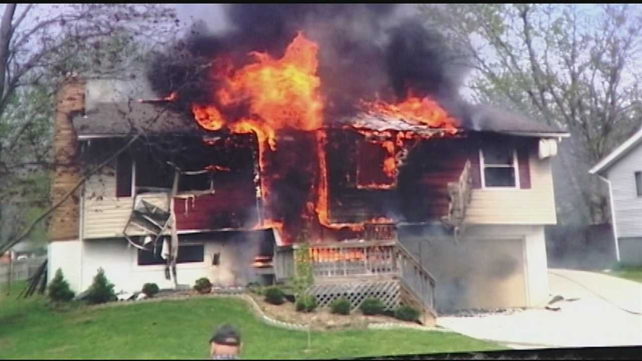 One person is dead and a firefighter injured after a house fire in Middletown on Thursday morning. The home's upper half and roof were burned away by the flames. Neighbors said the smoke could be seen from a long distance away. Officials confirmed one person was dead. No information about the person has been released.