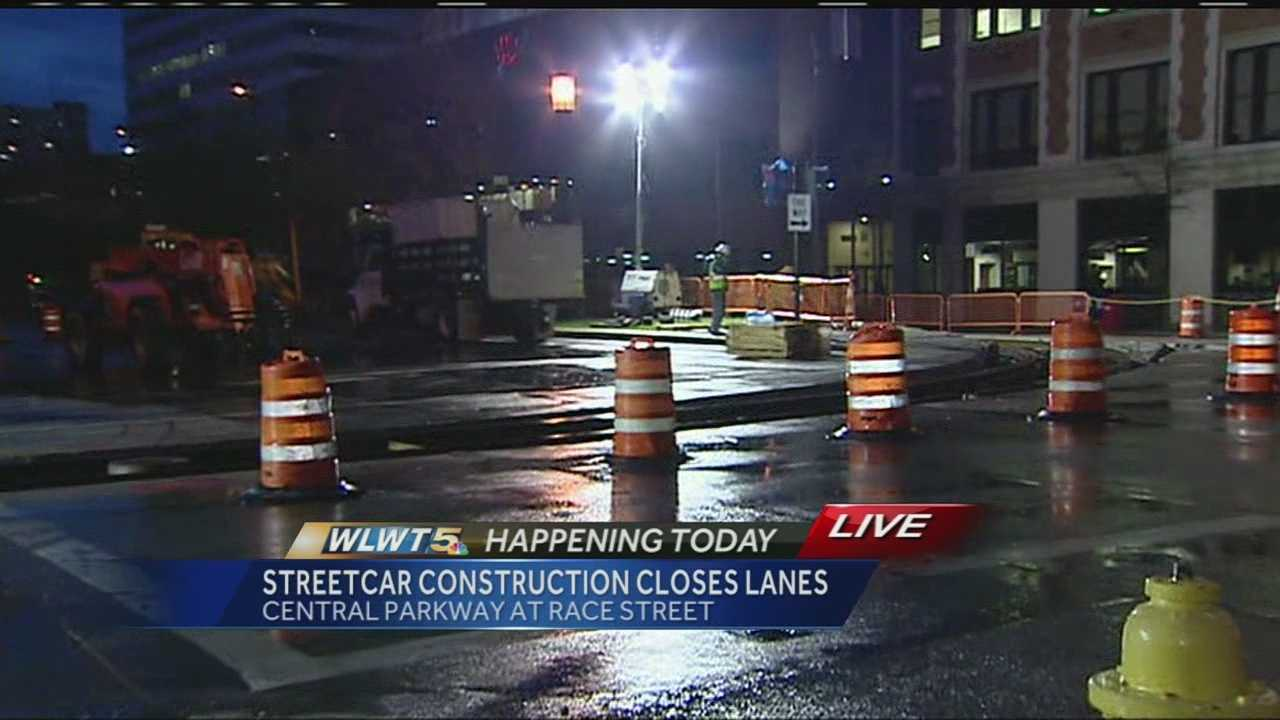 Streetcar work will close some new lanes soon.