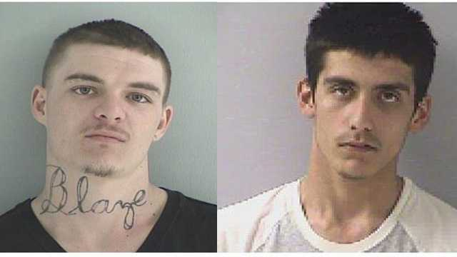 Tyler Ross, 25, and Dustin Begley, 19