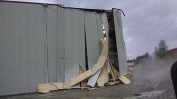 Damage at Merchant Cold Storage