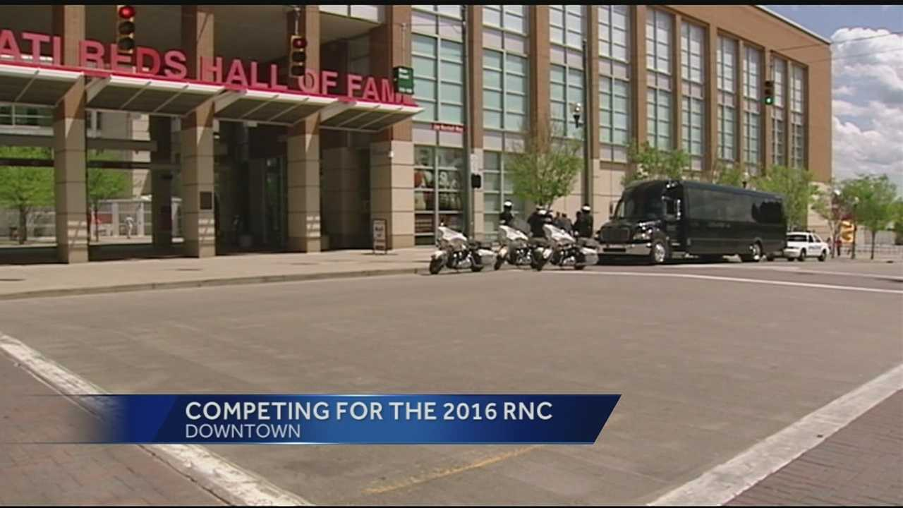 The Republican National Convention Site Selection team assessed Cincinnati's readiness as a potential host for the 2016 GOP National Convention Tuesday. City leaders said this day was a combination of putting the city's best-foot-forward and displaying the mechanics of how the city could accommodate such a huge undertaking.