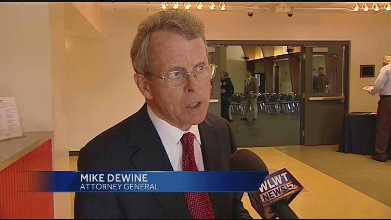 Wednesday was the twelfth drug forum for Attorney General Mike Dewine. He has made his way around Ohio speaking about law enforcement, political figures and families who have been changed by the effects of heroin and other drugs.