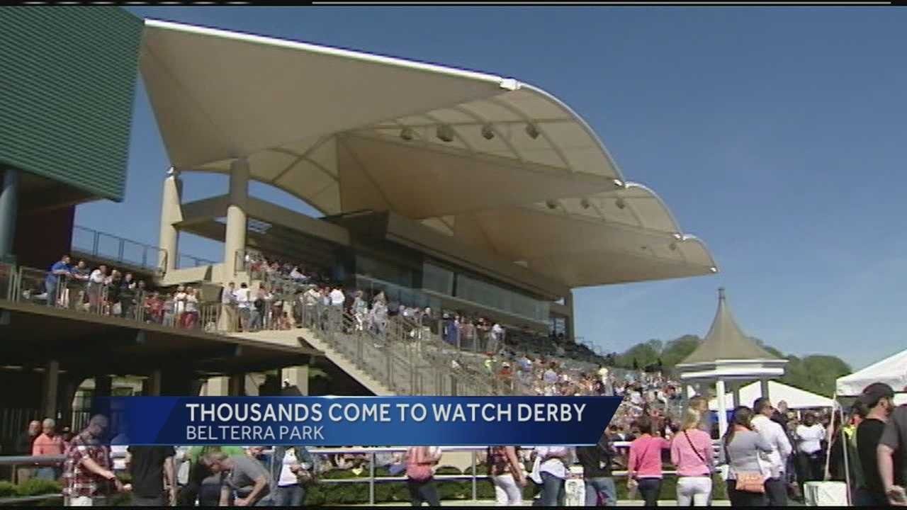 Belterra's new $300 million gaming facility just opened Thursday in Anderson Township, and was the perfect viewing venue for the 140th Kentucky Derby. WLWT joined the Derby festivities Saturday with thousands of race enthusiasts.
