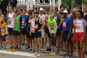 More than 4,000 runners took part in the Toyota 10K race Saturday. The American half marathon record holder Ryan Hall finished first for the men. Taryn Surtees finished first for the women.