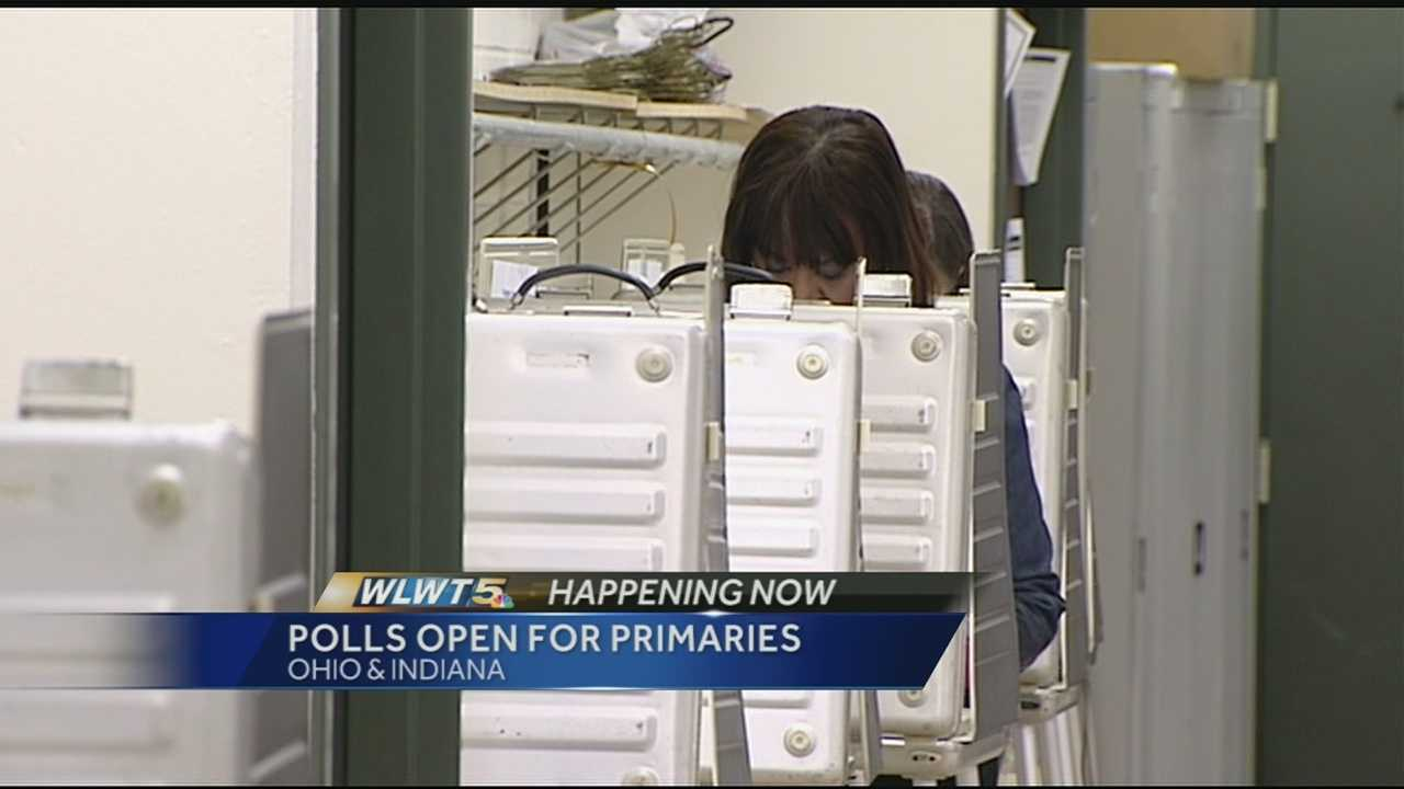 Hundreds of local races and levies are on ballots in Ohio and Indiana on Tuesday.