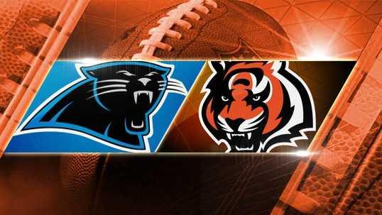 Week 6: Panthers at Bengals: The Bengals play the Carolina Panthers at Paul Brown Stadium on Sunday, Oct. 12 at 1 p.m.