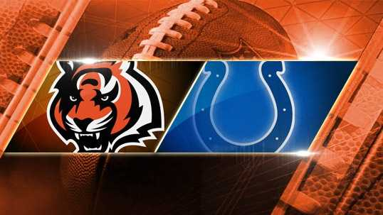 Week 7: Bengals at Colts: The Bengals face the Colts again, this time in the regular season, on Sunday, Oct. 19 at 1 p.m. in Lucas Oil Stadium.