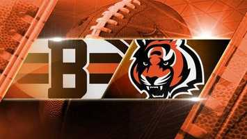 Week 10: Browns at Bengals: In-state rivals Bengals and Browns play at Paul Brown Stadium on Thursday, Nov. 6 at 8:25 p.m.