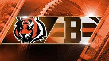 Week 15: Bengals at Browns: The Bengals play the Browns for the second times in the regular season in Cleveland on Sunday, Dec. 14 at 1 p.m.
