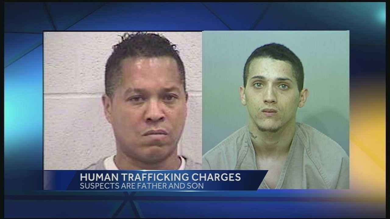 Keith Arrick Sr. of Ft. Mitchell, Kentucky and his son Keith Arrick Jr. of Columbus face a list of charges -- conspiracy, sex trafficking of a minor, sex trafficking by force, fraud and coercion. Both men could get life in prison.
