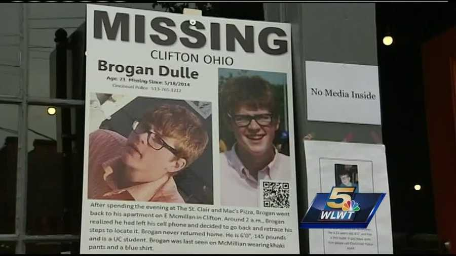 Officers find Brogan Dulle's body in an abandoned house next door to his apartment in Mount Auburn. They suspect the death was self-inflicted.