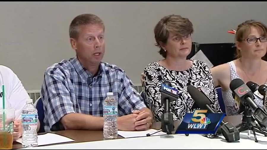 Friday, May 23: Brogan Dulle's parents, Beth and Tom Dulle, hold a press conference thanking volunteers and asking for Brogan's safe return.