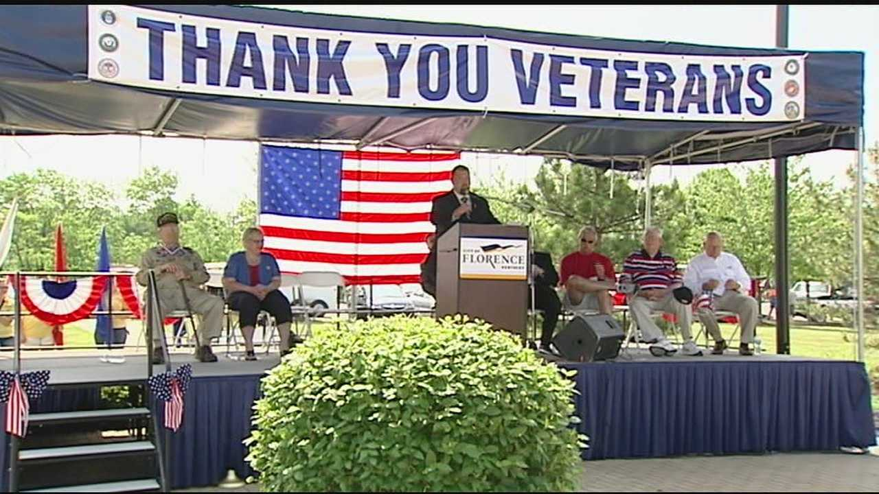 The parade began at Boone County High School and proceeded to the Florence Government Center. The ceremonies honored those who have served and those who are still serving in the armed forces.