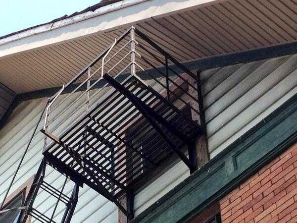 Workers told WLWT News 5 that they found a broken window on the top floor. Dulle likely climbed up the fire escape to enter the building.
