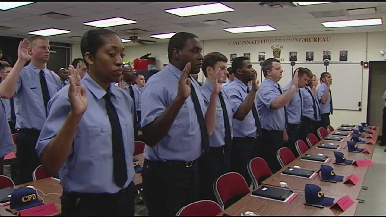 Cincinnati Fire Department welcomes new recruit class