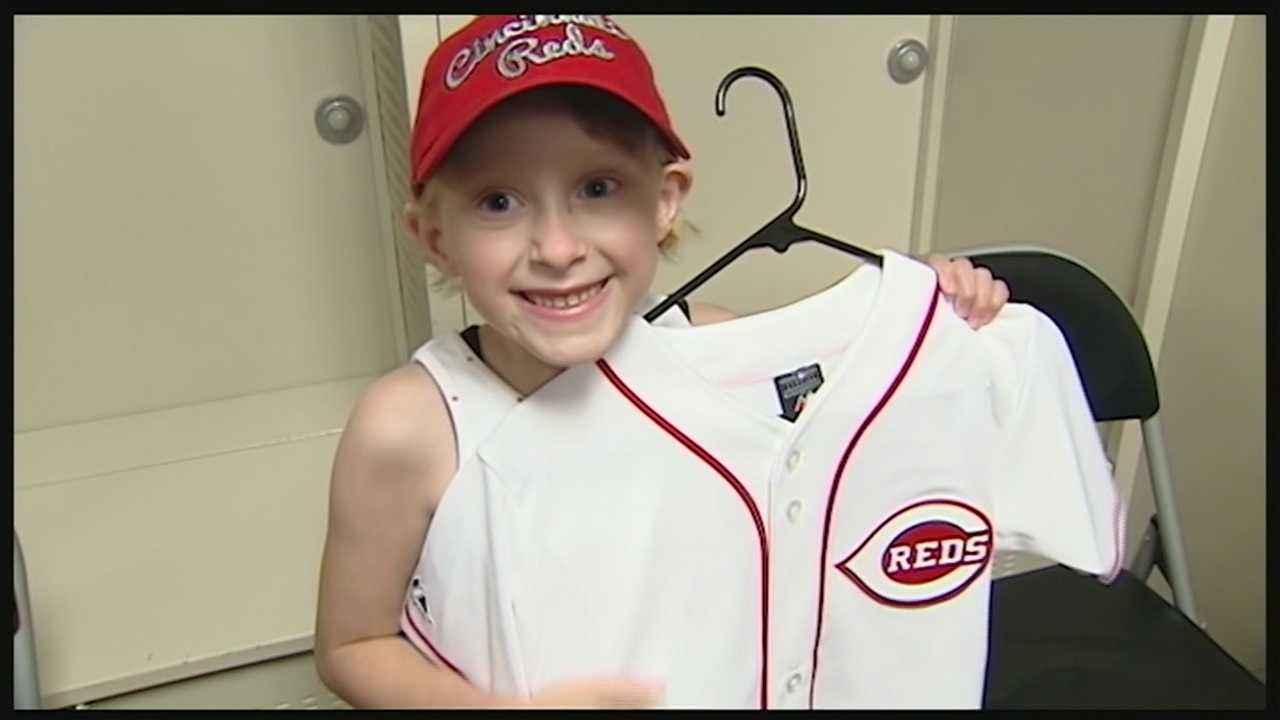 For children and young adults battling cancer who who've had bone marrow transplants, Wednesday's trip to Great American Ballpark was one to remember.