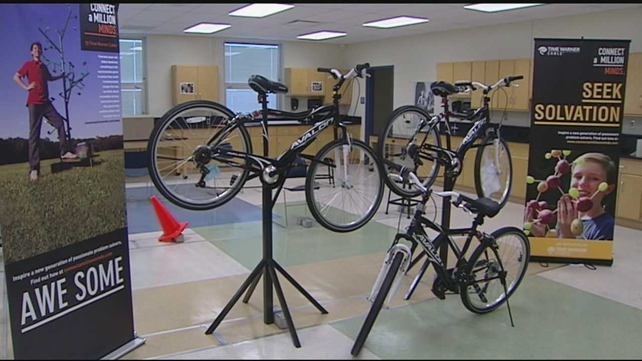 Connect a Million Minds addresses the lack of progress American students are facing in four key areas: science, technology, engineering and math. The students studied and built their own bikes, and will take them out for a ride at Lunken bike trail Saturday.