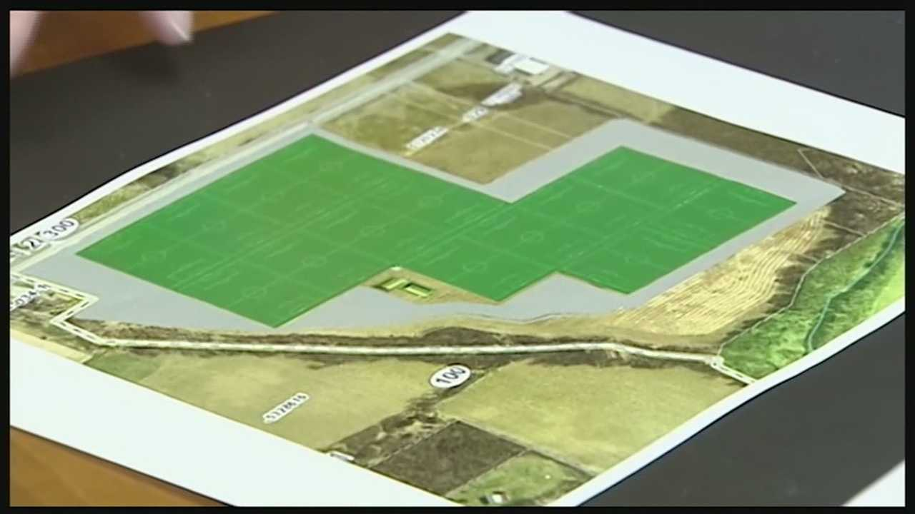 A super sports complex will be in the works in Warren County, if the City of Lebanon agrees to donate the land. Several miles down state Route 63 from the new racino and outlet mall, sits 54 acres of vacant land. Property the Warren County Convention and Visitors Bureau hopes to turn into a $3 million multipurpose sports complex.