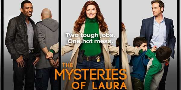 "The Mysteries Of Laura: On WEDNESDAYS at 8:00 pm. Laura Diamond, a brilliant NYPD homicide detective who balances her ""Columbo"" day job with a crazy family life that includes two unruly twin boys and a soon-to-be ex-husband (Josh Lucas) - also a cop - who just can't seem to sign the divorce papers. Between cleaning up after her boys and cleaning up the streets, she'd be the first to admit she has her ""hot mess"" moments in this hilariously authentic look at what it really means to be a ""working mom"" today. Somehow she makes it all work with the help of her sexy and understanding partner, and things get even more complicated when her husband ironically becomes her boss at the precinct. For Laura, every day is a high-wire balancing act.Cast: Debra Messing, Josh Lucas, Laz Alonso, and Janina Gavankar."