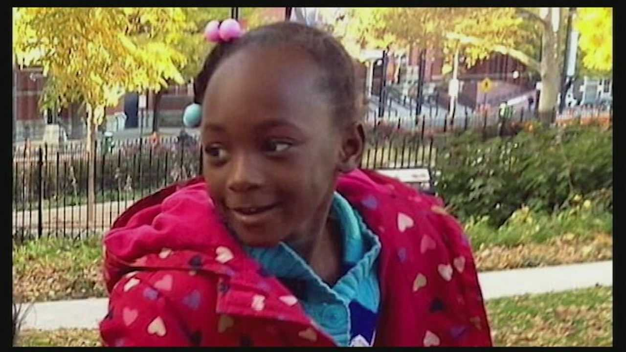 The girl will require major facial reconstruction, her family said. She was in a medically induced coma Thursday.