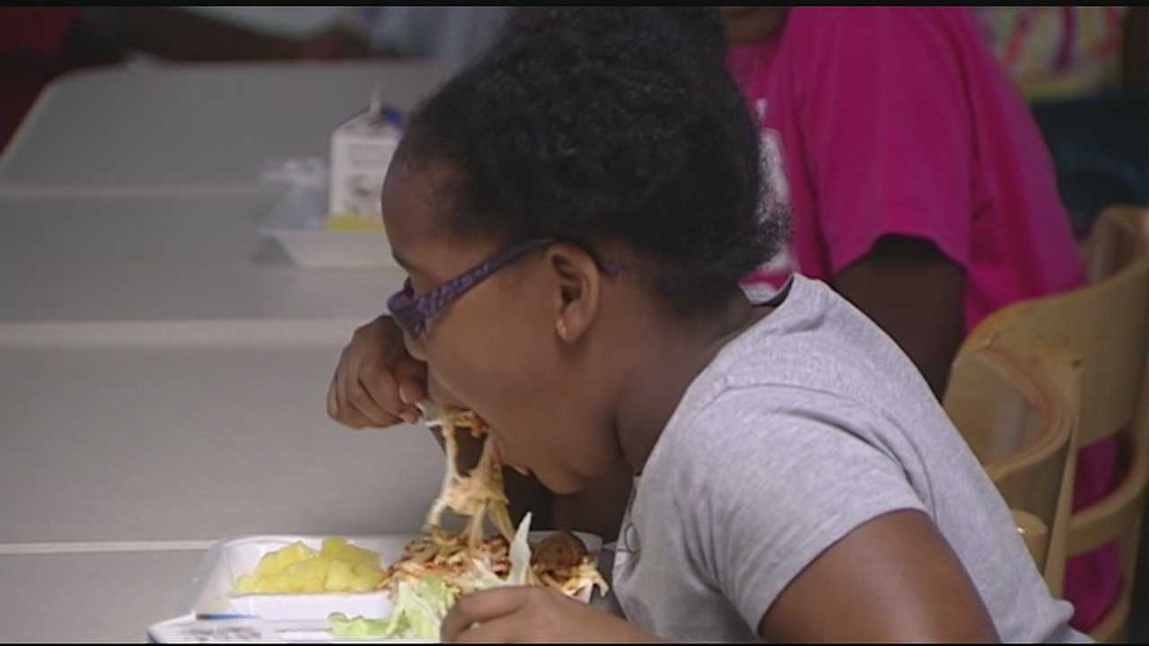 'Whole Again,' a Cincinnati ministry, provides a free meal to kids during the summer.