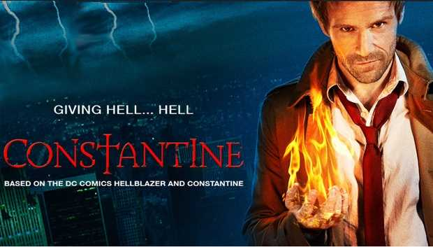 "Constantine: On Fridays 8:00 pm. Based on the wildly popular comic book series ""Hellblazer"" from DC Comics, seasoned demon hunter and master of the occult John Constantine specializes in giving hell... hell. Armed with a ferocious knowledge of the dark arts and his wickedly naughty wit, he fights the good fight - or at least he did. With his soul already damned to hell, he's decided to leave his do-gooder life behind. But when demons target Liv, the daughter of one of Constantine's oldest friends, he's reluctantly thrust back into the fray - and he'll do whatever it takes to save her. Before long, it's revealed that Liv's ""second sight,"" an ability to see the worlds behind our world and predict supernatural occurrences, is a threat to a mysterious new evil that's rising in the shadows. And now it's not just Liv who needs protection&#x3B; the angels are starting to get worried too. So, together, Constantine and Liv must use her power and his skills to travel the country, find the demons that threaten our world - and send them back where they belong. After that, who knows... maybe there's hope for him and his soul after all.Cast: Matt Ryan, Lucy Griffiths, Harold Perrineau, and Charles Halford."